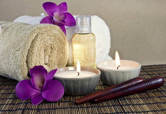 A massagem e a harmonia dos sentidos através dos aromas