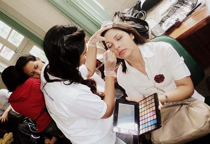 maquiador profissão futuro