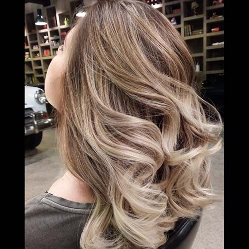 Reverse ombre hair tumblr
