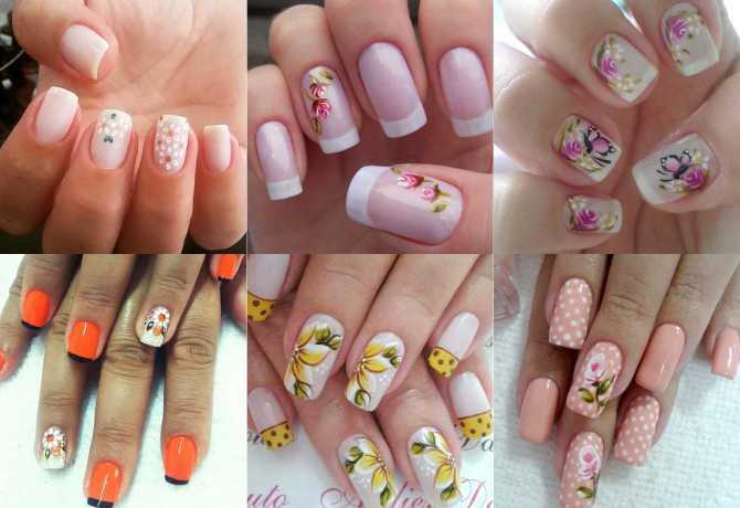17 fotos de unhas decoradas com flores para se inspirar
