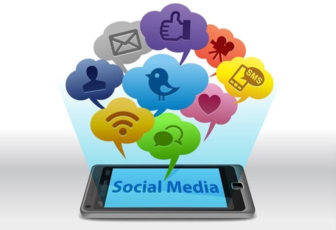 redes sociais salão de beleza