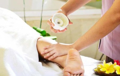beneficios massagem com vela