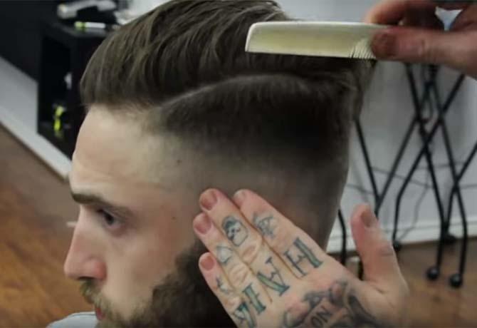 Passo Passo Corte Degradê Masculino Sucesso Nas Barbearias