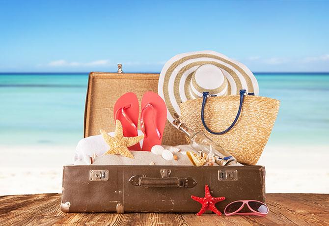 e85a2b988 Como arrumar a mala para praia